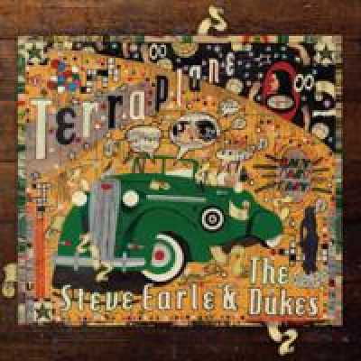 """Steve Earle and the Dukes Album Cover: """"an image called terraplane""""."""