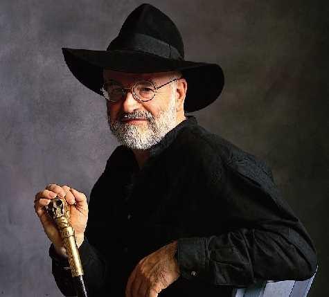 "Image of Terry Pratchett ""an image called Pratchett""."
